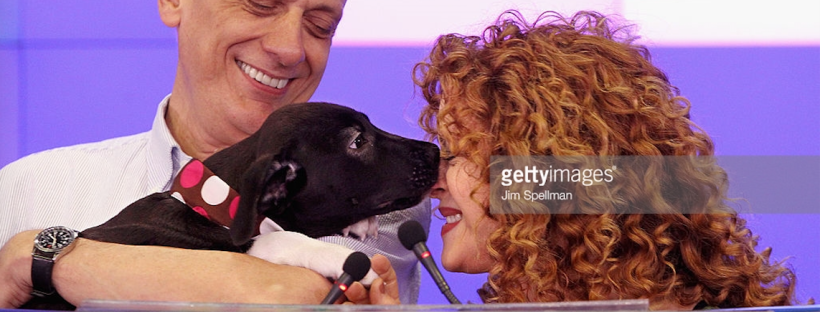 Literally Just 16 Getty Images of Bernadette Peters with Dogs – The