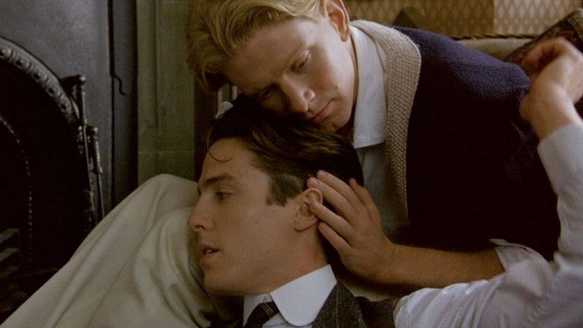Remember That One Scene in Maurice (1987) Where James Wilby Stroked Hugh Grant's Hair? Was That Fucked Up or What?