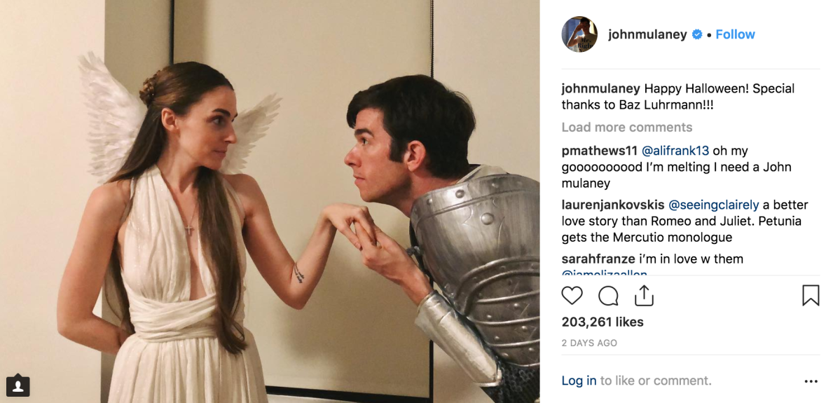 "Let's Scroll Through John Mulaney and Annamarie Tendler's Instagrams While Listening to ""Wouldn't It Be Nice"" by The Beach Boys Until We All Have Emotional Breakdowns"