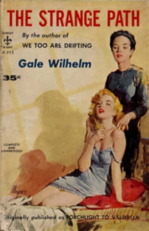 Cover_of_The_Strange_Path_by_Gale_Wilhelm_-_Illustrator_Robert_Maguire_-_Berkley_Books_G-111_1958